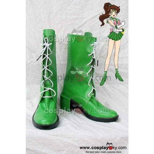 Sailor Moon Jupiter Cosplay Boots