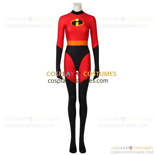 Elastigirl Helen Parr Costume for The Incredibles Cosplay