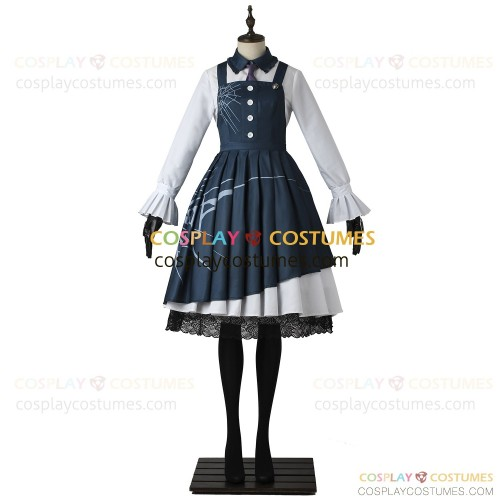 Toujyou Kirumi Costume for Danganronpa Cosplay