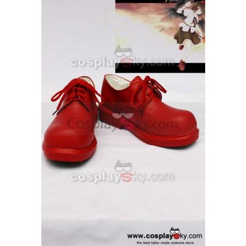 Touhou Project Syameimaru Aya Cosplay Shoes Boots