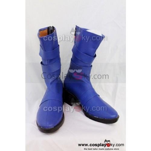 Sailor Moon Tenoh Haruka Cosplay Boots Custom Made