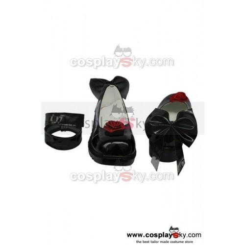 Rozen Maiden Black Shoes Custom Made