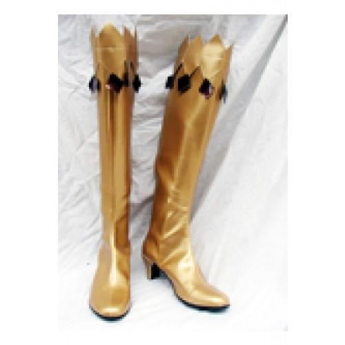 Sailor Moon Cosplay Boots Golden yellow