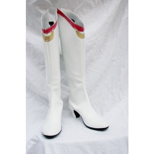 Sailor Moon Usagi Tsukino Cosplay Boots White