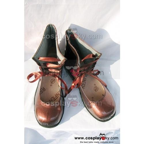 Rozen Maiden Lapislazuri Stern Cosplay Shoes Boots Custom Made