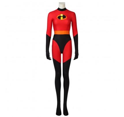 Elastigirl Helen Parr Costume for The Incredibles Cosplay