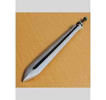 Dynasty Warriors Xiahou Dun//Hsiahou Tun Big Sword PVC Replica Cosplay Prop