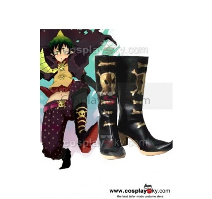 Ao No Blue Exorcist Amaimon Earth King Cosplay Shoes Boots